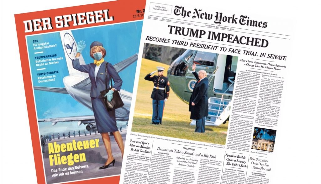 Spiegel und NYT